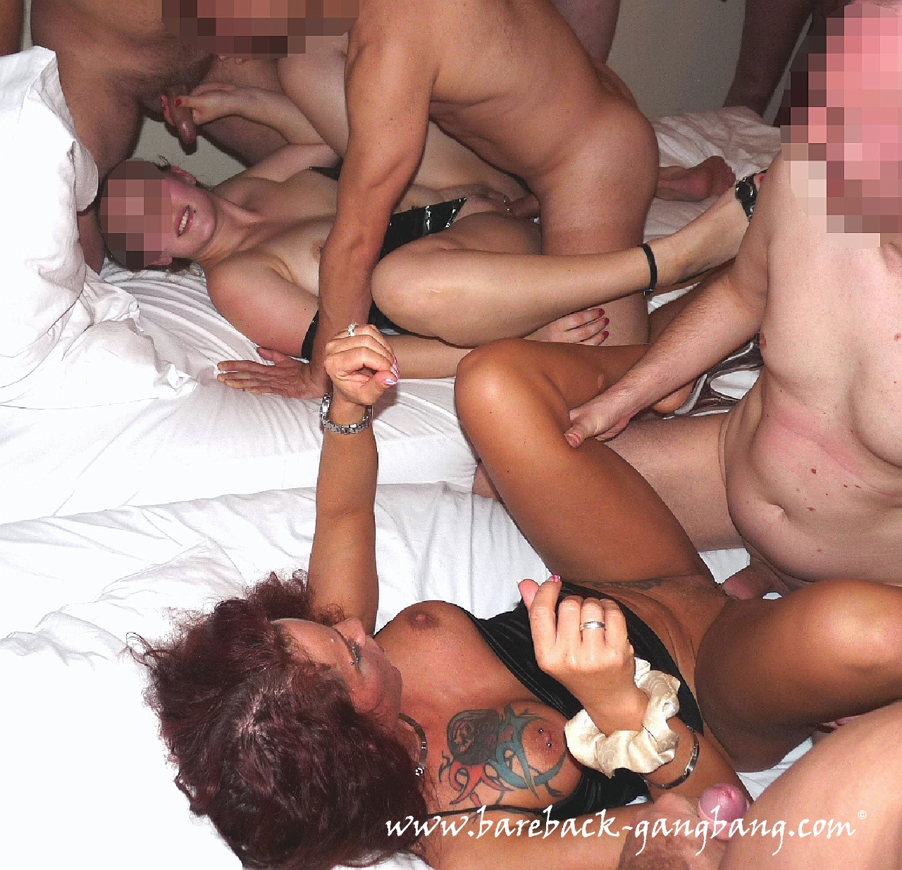 10 perv hunks gang banged and dominated horny slut 2