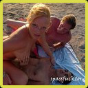 Bareback outdoor orgy at the beach in Florida - part 1