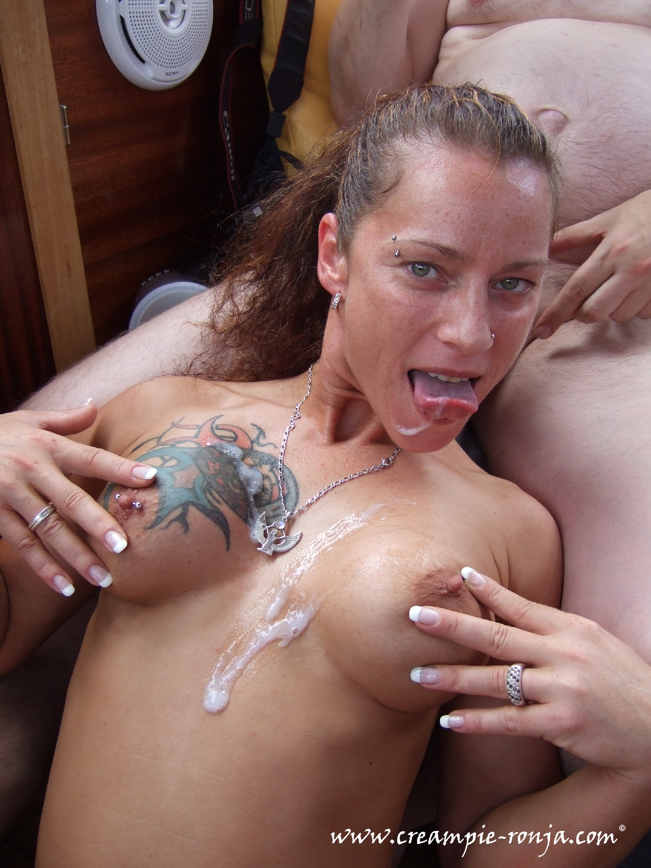 Pierced and tattooed amateur blow jon my sexy piercings girl 5